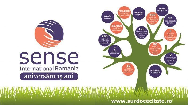 Sense Internațional România sărbătorește 15 ani de proiecte în beneficiul copiilor cu surdocecitate!