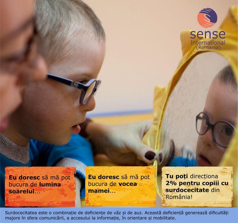 2% pentru copiii cu surdocecitate