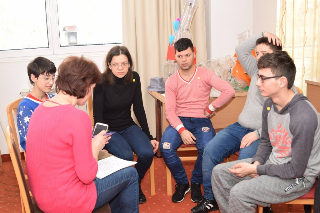 Workshops for young people with deafblindness