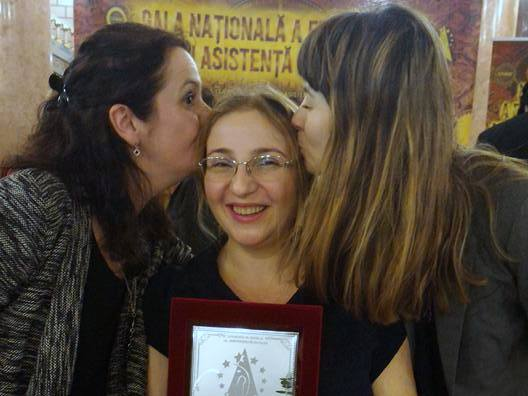 Ramona Antonie – The Social Worker of the Year 2017 in the field of disabilities!