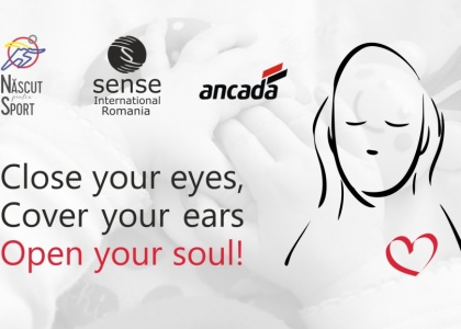 Close your eyes, cover your ears, open your soul!
