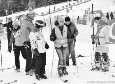 Orientare și mobilitate pe schiuri